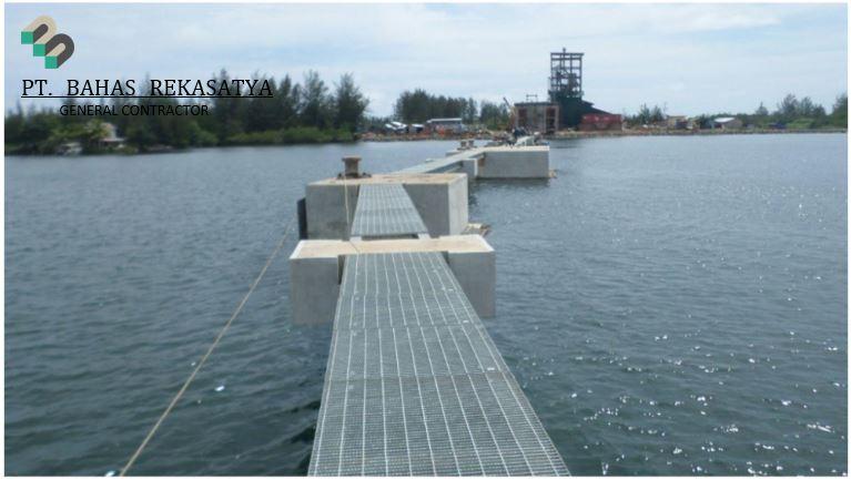 PEMBANGUNAN DERMAGA PT Bahas Rekasatya Infrastructure - 2